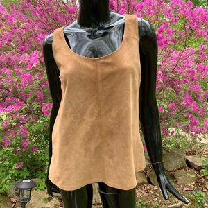TALBOTS Top Leather NEW